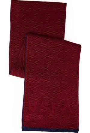 U.S. Polo Assn. Erkek Santask7 Atkı Kırmızı