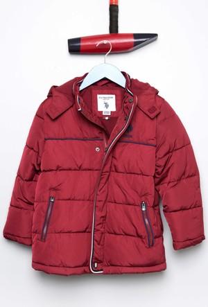 U.S. Polo Assn. Erkek Çocuk Furyk17 Mont Kırmızı