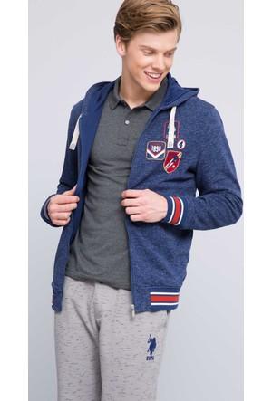 U.S. Polo Assn. Erkek Olic Sweatshirt Lacivert