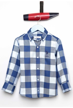U.S. Polo Assn. Erkek Çocuk Pellekids Gömlek Mavi