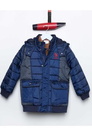 U.S. Polo Assn. Erkek Çocuk Bertok17 Mont Lacivert