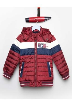 U.S. Polo Assn. Erkek Çocuk Marmionk17 Mont Kırmızı