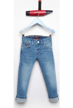 U.S. Polo Assn. Erkek Çocuk Lacopokids-O Pantolon İndigo