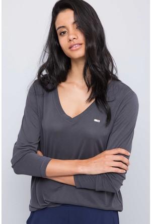 U.S. Polo Assn. Kadın Hale Sweatshirt Gri