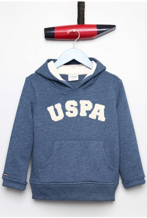 U.S. Polo Assn. Erkek Çocuk Jaxelsk7 Sweatshirt Lacivert