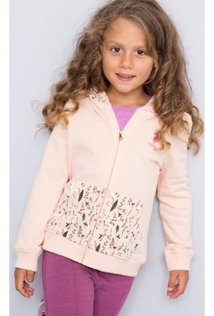 U.S. Polo Assn. Kız Çocuk Sasha Sweatshirt Pembe