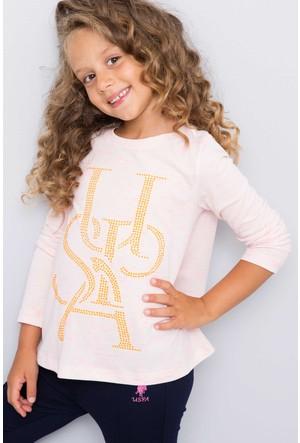 U.S. Polo Assn. Kız Çocuk Sienna Sweatshirt Pembe