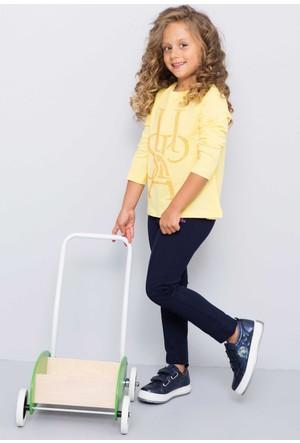 U.S. Polo Assn. Kız Çocuk Sienna Sweatshirt Sarı