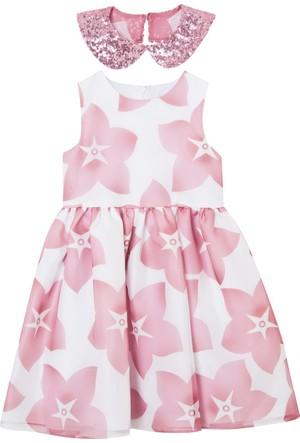 Goose Kız Çocuk Payet Garnili Organze Elbise