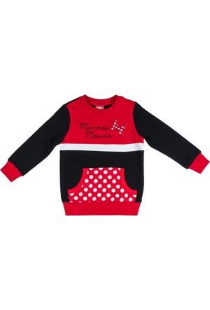 Minnie Mouse MN9466 Çocuk Sweatshirt
