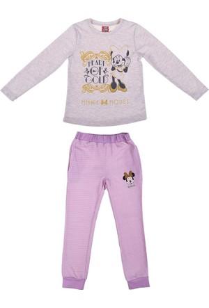 Minnie Mouse MN12361 Çocuk Pijama Takımı