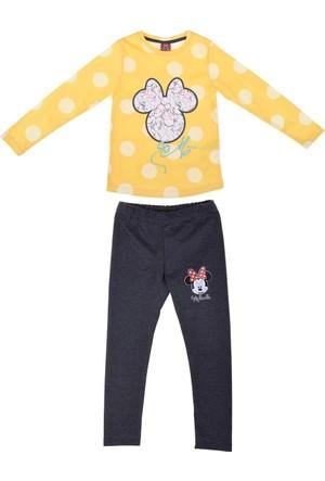 Minnie Mouse MN12365 Çocuk Pijama Takımı