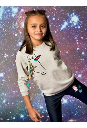 LC Waikiki Kız Çocuk Sweatshirt