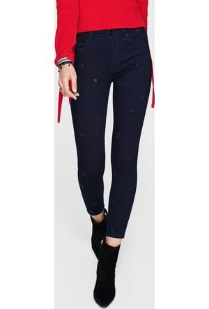 Mavi Tess Yıldızlı Gold Jean Pantolon
