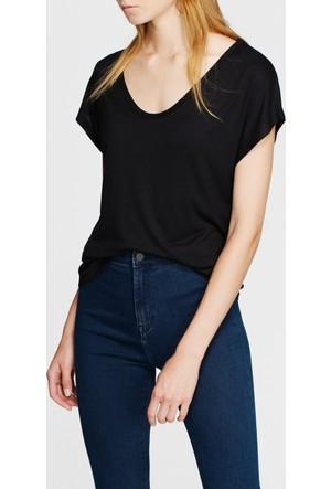 Mavi Siyah Basic Kısa Kol T-Shirt