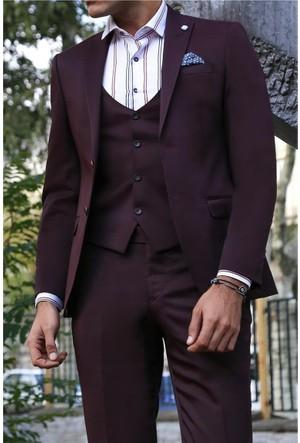 Wessi Yelekli Sivri Yaka Takım Elbise