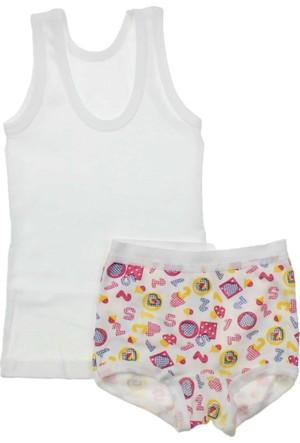 Modakids Kız Bebek Atlet Boxer Takım 035-83044-027