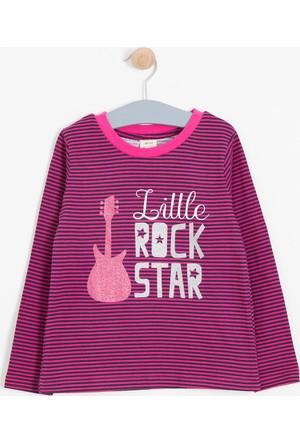 Soobe Kız Çocuk Uzun Kol T-Shirt