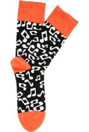 Pixter&Bro Trend Happy Music Erkek Soket Çorap