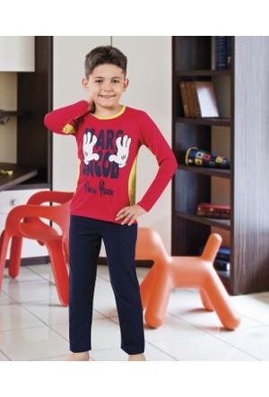 Serra Star Erkek Çocuk Pijama Takımı Lacivert