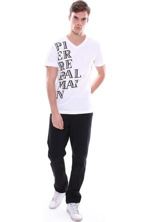 Pıerre Balmaın Erkek T-Shirt Beyaz
