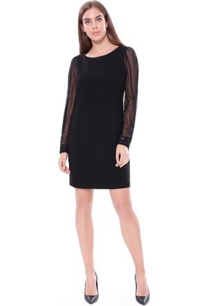 Elie Tahari Kadın Elbise Siyah
