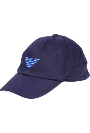 Armani Junior Erkek Çocuk Şapka Mavi