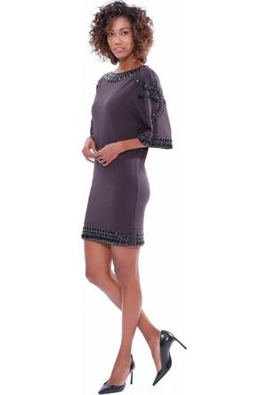 Blumarine Kadın Elbise Kahverengi
