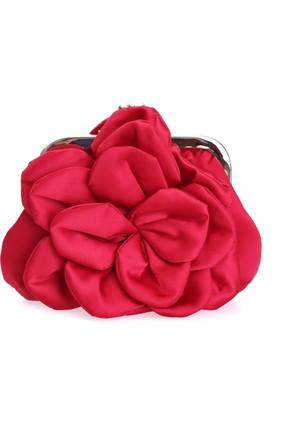 Love Moschino Kadın Clutch Kırmızı