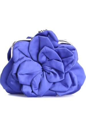 Love Moschino Kadın Clutch Mavi