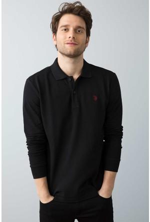 U.S. Polo Assn. Erkek Gtp01Sk7 Sweatshirt Siyah