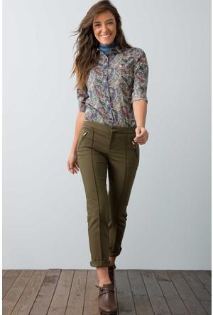 U.S. Polo Assn. Kadın Dolce Pantolon Haki