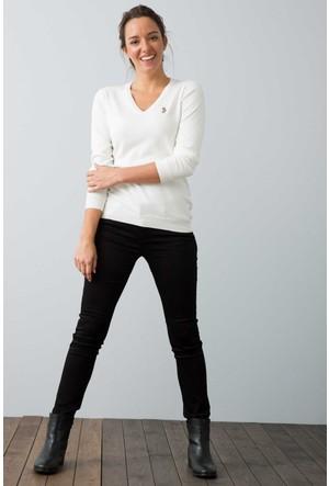 U.S. Polo Assn. Kadın Prettx7S Pantolon Siyah