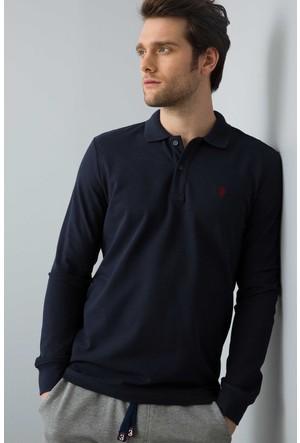 U.S. Polo Assn. Erkek Gtp01Sk7 Sweatshirt Koyu Lacivert