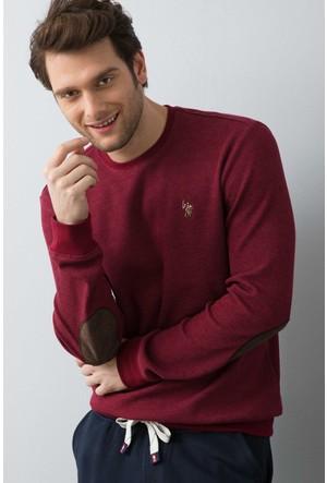 U.S. Polo Assn. Erkek Tilburgsk7 Sweatshirt Kırmızı
