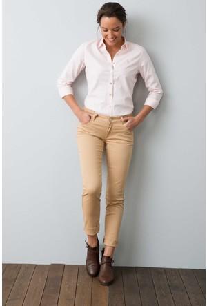 U.S. Polo Assn. Kadın Tina7S Kot Pantolon Ekru