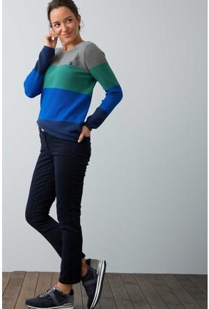U.S. Polo Assn. Kadın Tina7S Kot Pantolon Lacivert