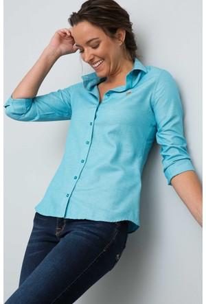 U.S. Polo Assn. Kadın Woxcolor17K Gömlek Mint
