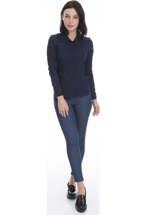 Collezione Masskk Kadın Uzun Kollu Gömlek