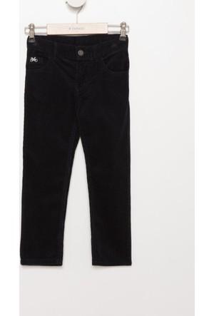 DeFacto Erkek Çocuk Basic Kadife 5 Cep Pantolon Lacivert