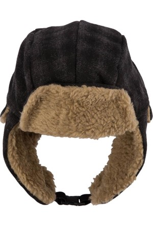 DeFacto Erkek Kulaklıklı Kışlık Şapka Antrasit