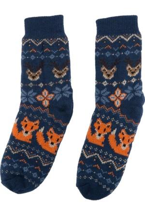DeFacto Erkek Çocuk Kalın Çorap Lacivert