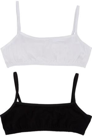 DeFacto Kız Çocuk İkili Atlet Beyaz