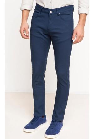 DeFacto Erkek 5 Cep Pantolon Mavi