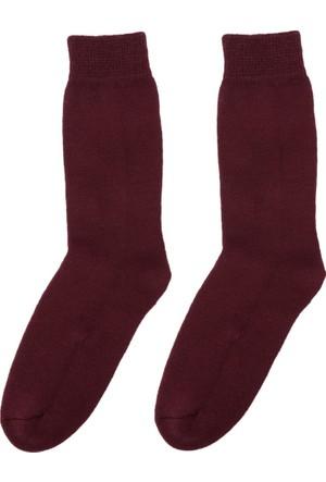 DeFacto Kadın Termal Çorap Bordo