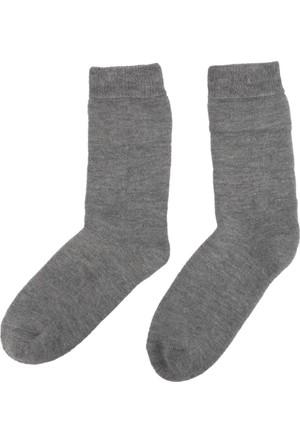 DeFacto Kadın Termal Çorap Gri