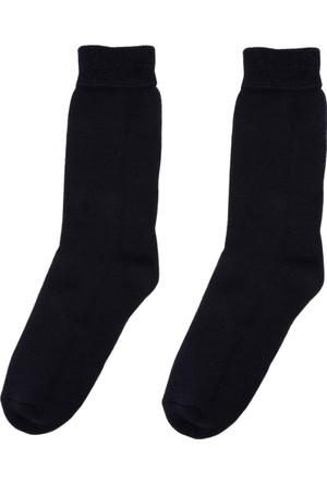 DeFacto Kadın Termal Çorap Lacivert