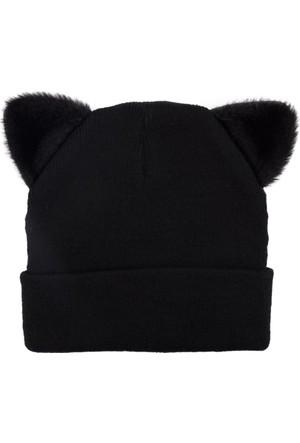 DeFacto Kadın Kedi Bere Siyah