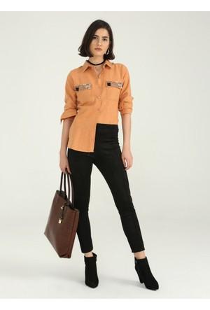 BFG Moda Kadın Gömlek 753-Sln1001B024