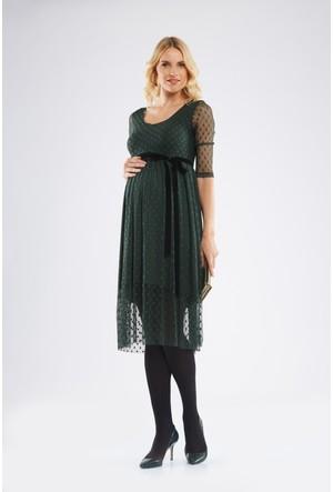 Lyn Devon Lal Elbise Yeşil